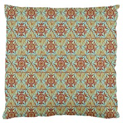 Hexagon Tile Pattern 2 Large Flano Cushion Case (one Side)
