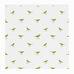 Birds Motif Pattern Medium Glasses Cloth (2 Side)