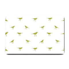 Birds Motif Pattern Small Doormat