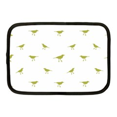 Birds Motif Pattern Netbook Case (medium)