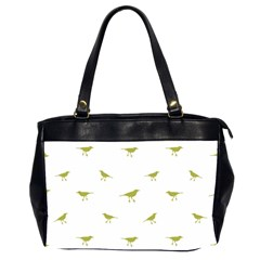 Birds Motif Pattern Office Handbags (2 Sides)