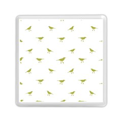 Birds Motif Pattern Memory Card Reader (square)