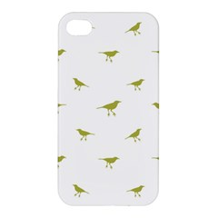 Birds Motif Pattern Apple Iphone 4/4s Hardshell Case