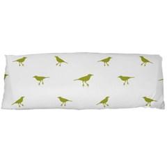 Birds Motif Pattern Body Pillow Case (dakimakura)
