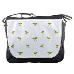 Birds Motif Pattern Messenger Bags
