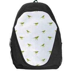 Birds Motif Pattern Backpack Bag