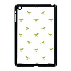 Birds Motif Pattern Apple Ipad Mini Case (black)