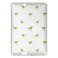 Birds Motif Pattern Amazon Kindle Fire Hd (2013) Hardshell Case