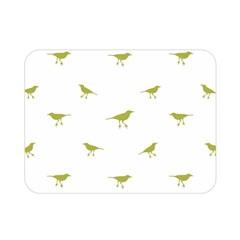 Birds Motif Pattern Double Sided Flano Blanket (mini)