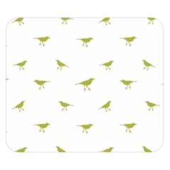 Birds Motif Pattern Double Sided Flano Blanket (small)