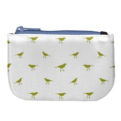 Birds Motif Pattern Large Coin Purse