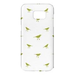 Birds Motif Pattern Samsung Galaxy S7 Edge Hardshell Case