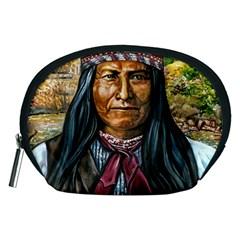 Apache Tribe Warrior Chiricahua Apache Tribe Accessory Pouches (medium)