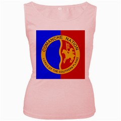 Comanche Nation Women s Pink Tank Top