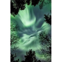 Northern Lights In The Forest 5 5  X 8 5  Notebooks