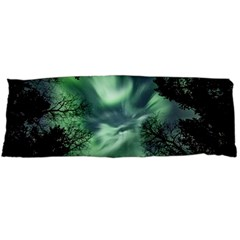 Northern Lights In The Forest Body Pillow Case Dakimakura (two Sides)