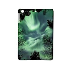 Northern Lights In The Forest Ipad Mini 2 Hardshell Cases