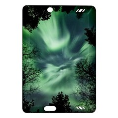 Northern Lights In The Forest Amazon Kindle Fire Hd (2013) Hardshell Case