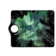 Northern Lights In The Forest Kindle Fire Hdx 8 9  Flip 360 Case