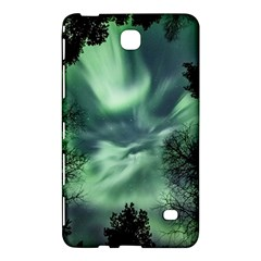 Northern Lights In The Forest Samsung Galaxy Tab 4 (7 ) Hardshell Case