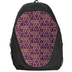 Flower Kaleidoscope 2 01 Backpack Bag