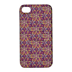 Flower Kaleidoscope 2 01 Apple Iphone 4/4s Hardshell Case With Stand