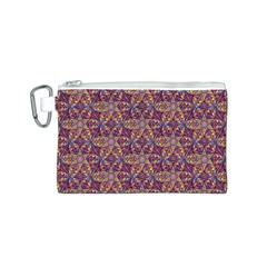 Flower Kaleidoscope 2 01 Canvas Cosmetic Bag (s)