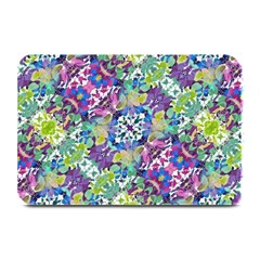 Colorful Modern Floral Print Plate Mats