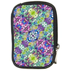Colorful Modern Floral Print Compact Camera Cases