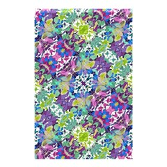 Colorful Modern Floral Print Shower Curtain 48  X 72  (small)