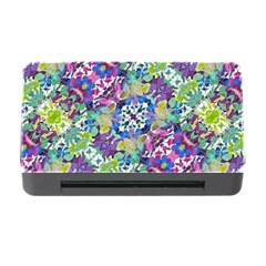 Colorful Modern Floral Print Memory Card Reader With Cf