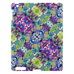 Colorful Modern Floral Print Apple Ipad 3/4 Hardshell Case