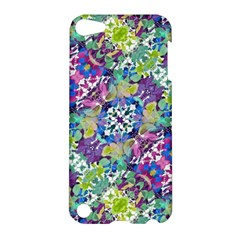 Colorful Modern Floral Print Apple Ipod Touch 5 Hardshell Case