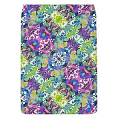 Colorful Modern Floral Print Flap Covers (l)