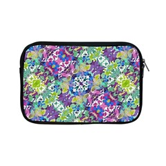 Colorful Modern Floral Print Apple Ipad Mini Zipper Cases
