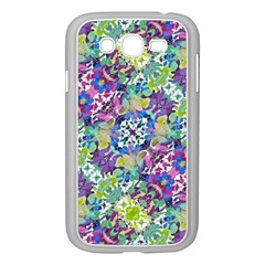 Colorful Modern Floral Print Samsung Galaxy Grand Duos I9082 Case (white)