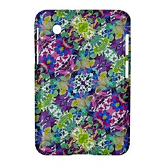 Colorful Modern Floral Print Samsung Galaxy Tab 2 (7 ) P3100 Hardshell Case