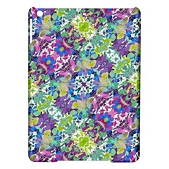Colorful Modern Floral Print Ipad Air Hardshell Cases