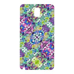 Colorful Modern Floral Print Samsung Galaxy Note 3 N9005 Hardshell Back Case