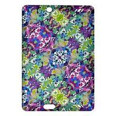 Colorful Modern Floral Print Amazon Kindle Fire Hd (2013) Hardshell Case
