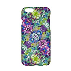 Colorful Modern Floral Print Apple Iphone 6/6s Hardshell Case