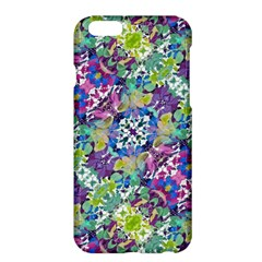 Colorful Modern Floral Print Apple Iphone 6 Plus/6s Plus Hardshell Case