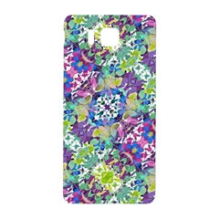 Colorful Modern Floral Print Samsung Galaxy Alpha Hardshell Back Case