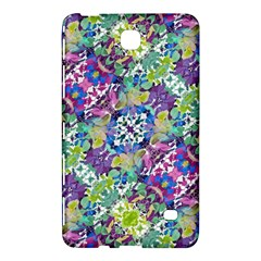 Colorful Modern Floral Print Samsung Galaxy Tab 4 (8 ) Hardshell Case