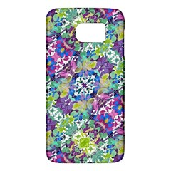 Colorful Modern Floral Print Galaxy S6