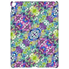 Colorful Modern Floral Print Apple Ipad Pro 12 9   Hardshell Case