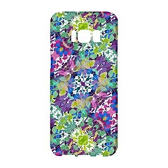 Colorful Modern Floral Print Samsung Galaxy S8 Hardshell Case