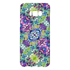 Colorful Modern Floral Print Samsung Galaxy S8 Plus Hardshell Case