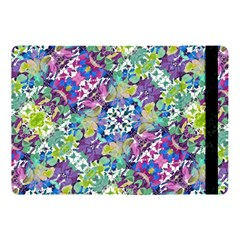 Colorful Modern Floral Print Apple Ipad Pro 10 5   Flip Case