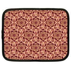 Flower Star Pattern  Netbook Case (xxl)